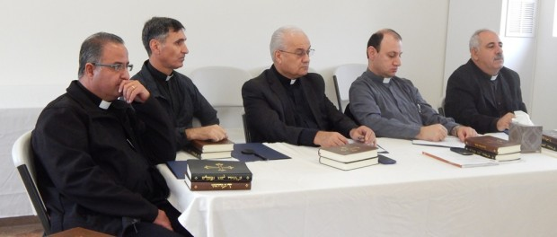 The Clergy of Saint Peter Diocese Meet
